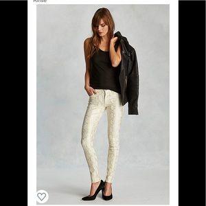 True religion Halle super skinny jeans 25 gold